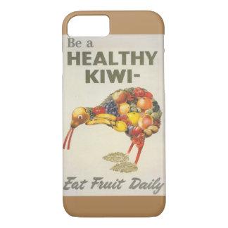 健康なキーウィのiPhone 7の例があって下さい iPhone 8/7ケース