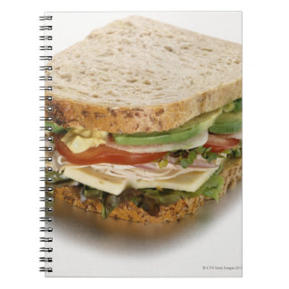 健康なサンドイッチ ノートブック