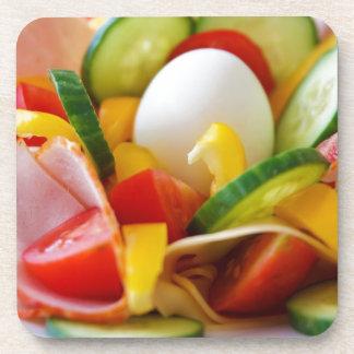 健康なビーガンの朝食 コースター