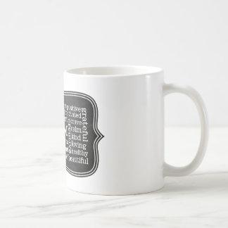 健康な健康前向きな断言私はあります コーヒーマグカップ