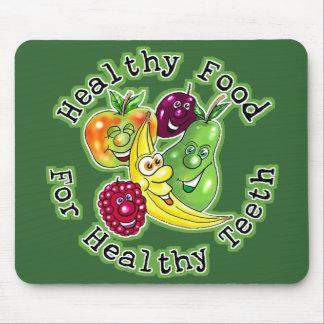 健康な歯のための健康な食糧 マウスパッド