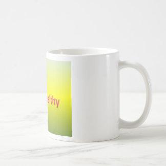 健康な滞在 コーヒーマグカップ