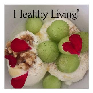 健康な生きている食糧ポスター ポスター