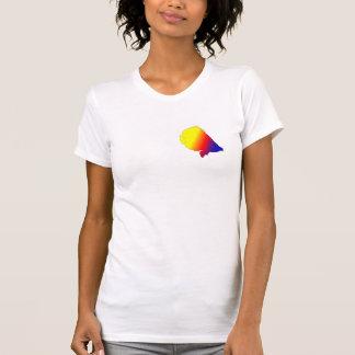 健康な礁の魚のデザインのワイシャツ Tシャツ