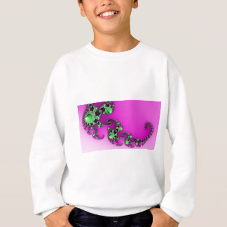 健康な紫色 スウェットシャツ