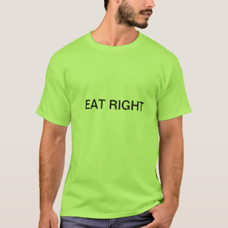 健康な食糧フレンドリーなワイシャツ Tシャツ