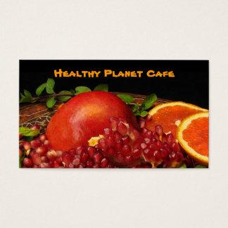 健康な食糧レストラン 名刺