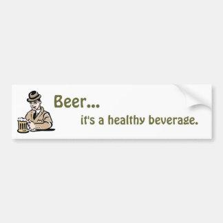 健康な飲料のバンパーステッカー バンパーステッカー
