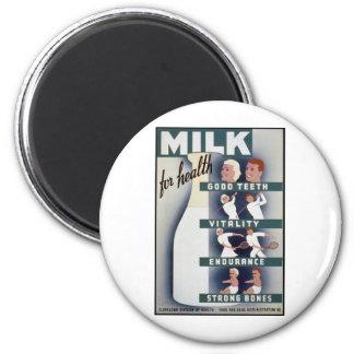 健康のためのミルク マグネット
