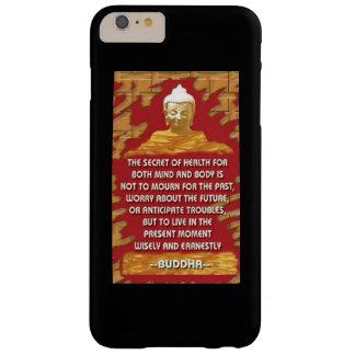 健康の秘密: 仏の引用文 BARELY THERE iPhone 6 PLUS ケース