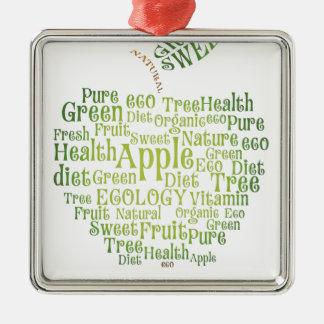 健康の緑の環境にやさしい メタルオーナメント