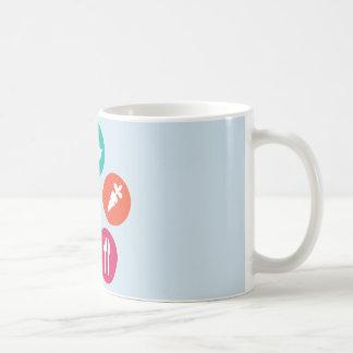 健康 コーヒーマグカップ