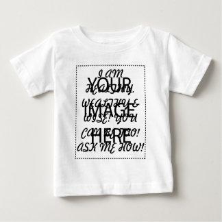 健康、豊か及び賢い ベビーTシャツ