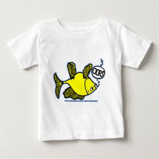 側面の上で採取して下さい! ベビーTシャツ