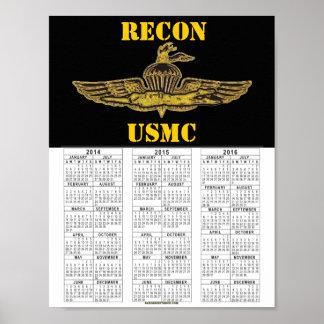偵察USMC ポスター