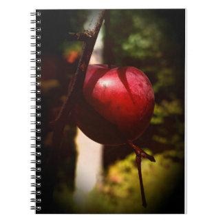 偶然のカニAppleの木のノート(80ページB&W) ノートブック