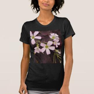 偽のシャムロックOxalis Triangularis Tシャツ