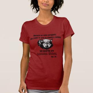 偽の予言者のオオカミ Tシャツ
