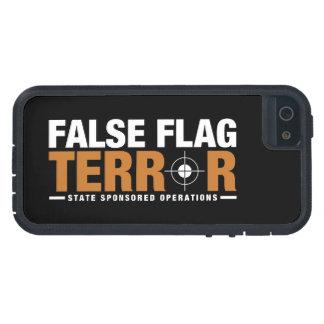 偽の旗の恐怖のiPhone 5の場合 iPhone SE/5/5s ケース