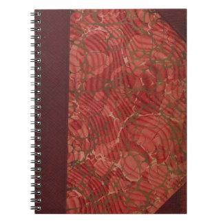 偽りなくヴィンテージ: レトロ古く、旧式な表紙- ノートブック