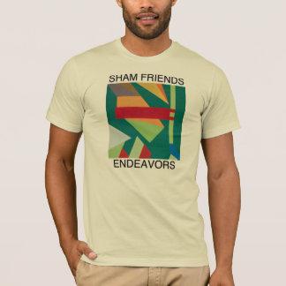 偽りの友人-努力 Tシャツ