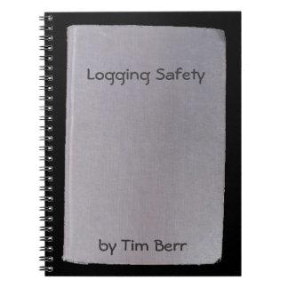 偽りの本、おもしろいな作家no.7の記録の安全 ノートブック