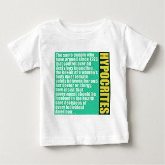 偽善者 ベビーTシャツ