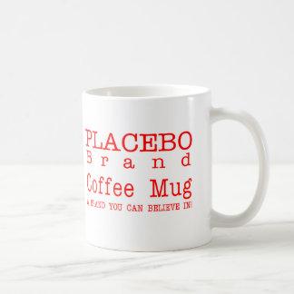 偽薬のブランドの白11のozのクラシックなコーヒー・マグ コーヒーマグカップ