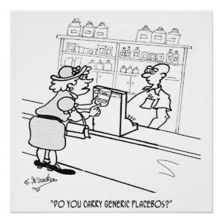 偽薬の漫画2861 ポスター