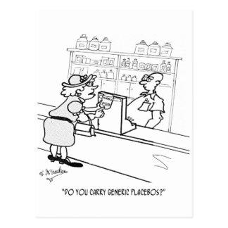 偽薬の漫画2861 ポストカード