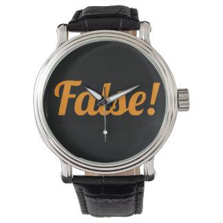 偽! クラシックな腕時計! ハロウィンのため 腕時計