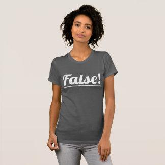 偽! 女性のアメリカの服装の罰金のジャージーのTシャツ Tシャツ