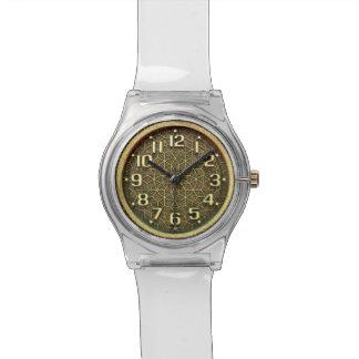 傑作の時間の優雅なSteampunkのくもの巣 腕時計