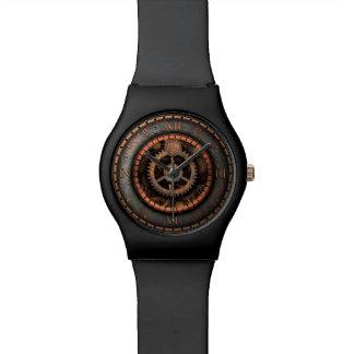 傑作の時間の優雅なSteampunkのギア 腕時計