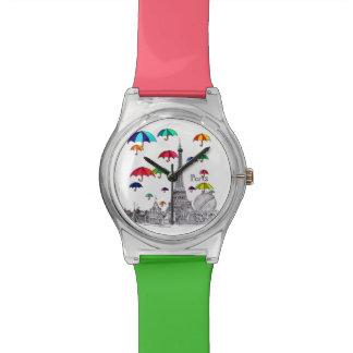 傘との旅行 腕時計
