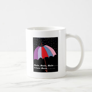 傘のテーマ コーヒーマグカップ