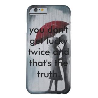 傘の下の良きパートナー BARELY THERE iPhone 6 ケース