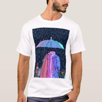 傘の女の子 Tシャツ
