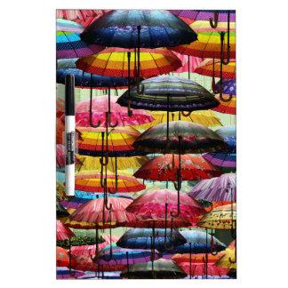 傘の屋根ふき ホワイトボード