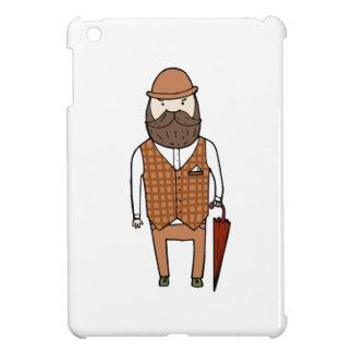傘を持つ紳士 iPad MINI CASE