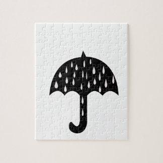 傘雨 ジグソーパズル