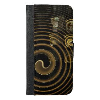 催眠の抽象美術のウォレットケース iPhone 6/6S PLUS ウォレットケース