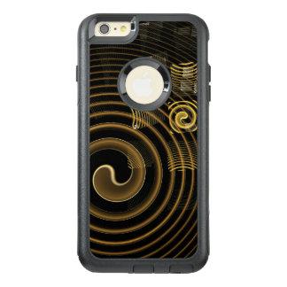 催眠の抽象美術の通勤者 オッターボックスiPhone 6/6S PLUSケース