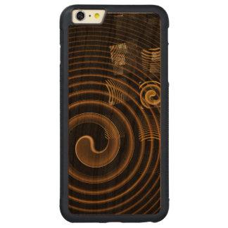 催眠の抽象美術 CarvedチェリーiPhone 6 PLUSバンパーケース