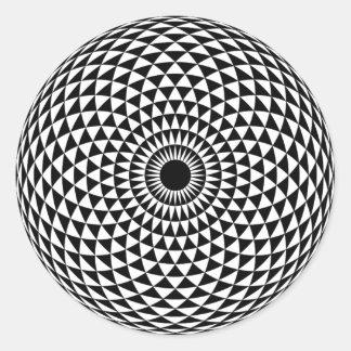 催眠性のステッカー ラウンドシール