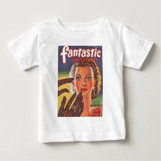 催眠性のブルネット ベビーTシャツ