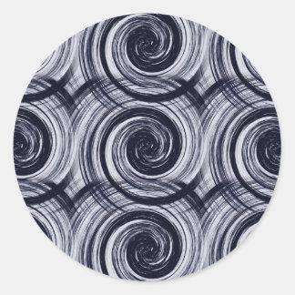催眠性の渦巻 ラウンドシール