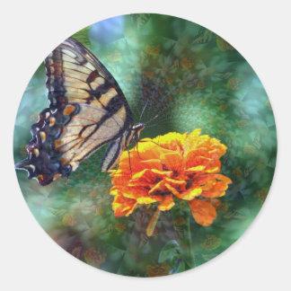 催眠性の蝶 ラウンドシール