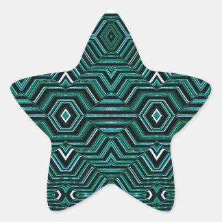 催眠性パターン 星シール