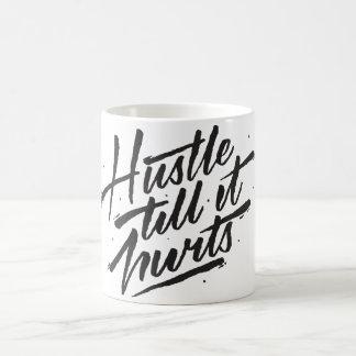 傷つくまでハッスル コーヒーマグカップ